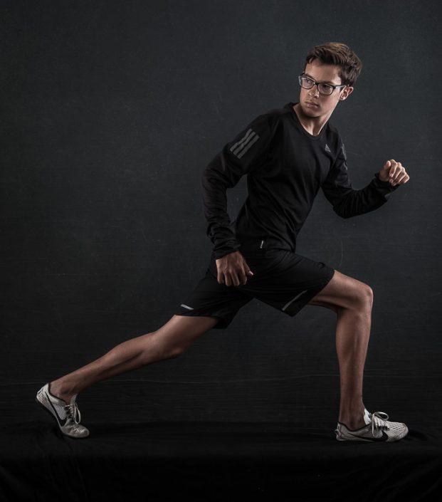 Sportmodel Leichtathletik und Triathlon Sportfotos München