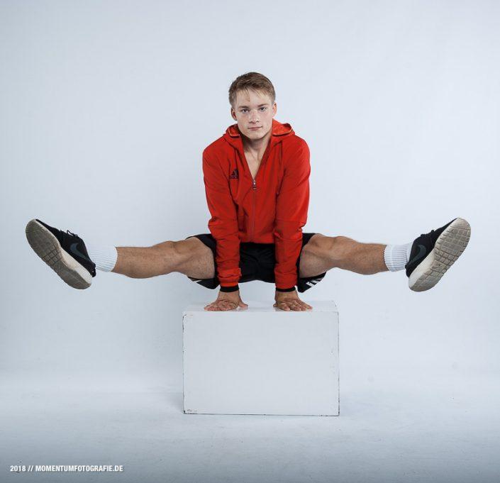 Sportmodel Kunstturnen Fotografie Stefan Mauermann